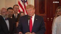Trump, attacco a Iran anche senza si' del Congresso