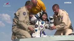 Rientrati tre astronauti dalla Stazione Spaziale Internazionale