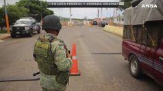 Frontiera Messico-Usa presidiata da 15 militari messicani