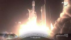 Lanciata la vela spaziale a bordo del razzo SpaceX