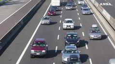 Autostrade, stop rincari pedaggi fino al 15 settembre