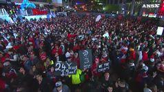 Nba, Toronto campione e in citta' e' festa grande