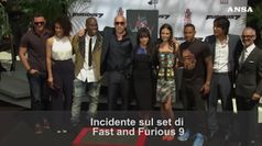 Incidente su set di Fast and furious 9