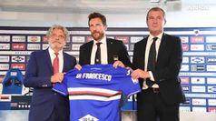 Sampdoria, Di Francesco presentato a Bogliasco