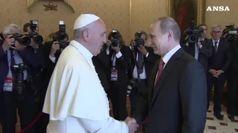 Attesa per visita Putin a Roma, vedra' Mattarella e papa Francesco