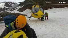 Valfurva, tragedia sul ghiacciaio dei Forni