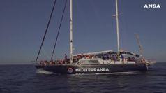 Migranti, braccio di ferro Viminale-Mediterranea