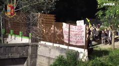 Chiomonte: dimostrazione No Tav in prossimita' cantiere