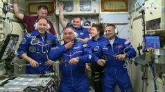 Parmitano nella Stazione Spaziale: