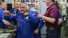 Parmitano nella Iss, 200 giorni nello spazio