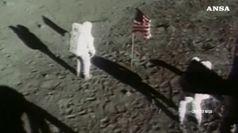Rari filmati dei primi passi sulla Luna all'asta a NY