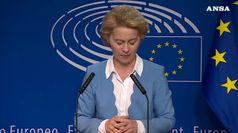Martedi' vota il Parlamento Ue, von der Leyen in bilico