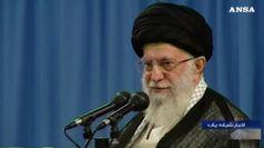 Iran, Khamenei minaccia la Gran Bretagna