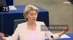 Chi e' la Signora Europa