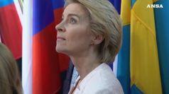 Ue, von der Leyen prima presidente donna della Commissione