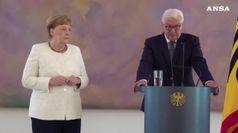Merkel spegne 65 candeline, un compleanno al lavoro