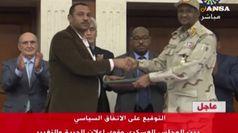 Sudan: giunta militare e civili si spartiscono il potere