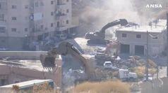 Israele demolisce case arabe a Gerusalemme est