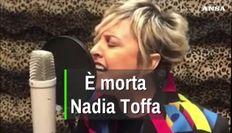 Addio Nadia Toffa, quando la Iena si trasformo' in cantautrice