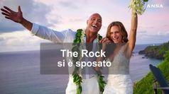The Rock si e' sposato