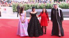 Venezia, tappeto rosso per l'arabo