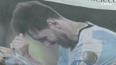 Messi dopo l'infortunio: