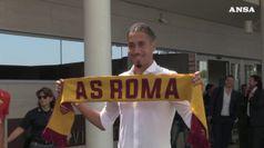 Calcio: Roma, Chris Smalling arrivato nella Capitale