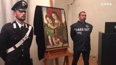 Il Pinturicchio trafugato torna a Perugia