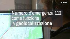 Numero d'emergenza 112, come funziona la geolocalizzazione