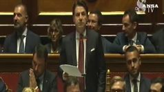 Conte: Salvini ha seguito interessi personali