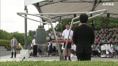 Hiroshima, commemorazione del 74  anniversario del disastro atomico