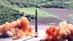 Corea Nord lancia 2 missili e boccia il dialogo con Seul