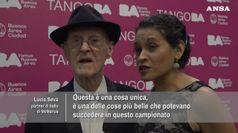 Tango che passione, a 99 anni in pista ai Mondiali