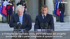 Brexit, Johnson: voglio trovare un accordo