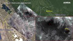 I roghi nella foresta amazzonica visti dallo spazio