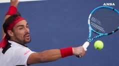 Tennis: Fognini cede a Nadal, niente semifinale