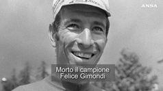 Addio a Felice Gimondi, monumento dello sport