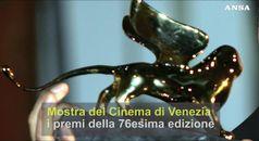 Mostra del Cinema di Venezia, i premi della 76esima edizione