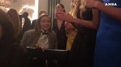 Gigi Hadid si scatena dopo la sfilata di Ralph Lauren