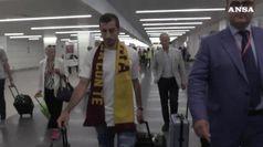 Mkhitaryan e' arrivato nella Capitale