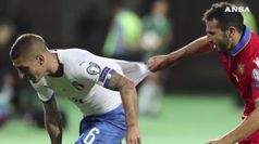 Euro 2020: battuta anche l'Armenia, Italia a punteggio pieno