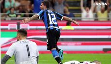 Inter batte l'Udinese e va al primo posto