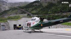 Rischio di crollo per un ghiacciaio sul Monte Bianco