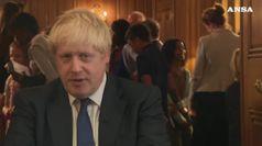 Brexit, la reazione di Boris Johnson