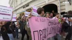 Mosca, manifestazioni senza violenze