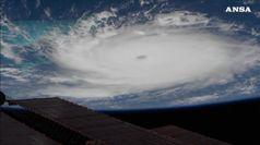 L'uragano Dorian visto dalla Stazione Spaziale Internazionale