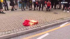 Hong Kong: studenti universitari inaugurano anno accademico