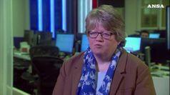 Therese Coffey e' la nuova ministra del lavoro in Gb