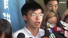 Hong Kong: Wong scarcerato, andra' in Germania e Usa