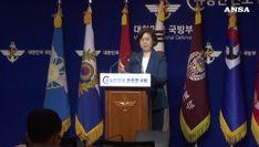 Corea del Nord lancia due proiettili in mare